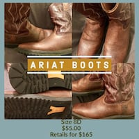 Ariat Boots Universal City, 78148