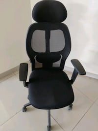black and gray rolling chair Bengaluru, 560102