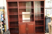 """Cabinet 6'x6'x16""""(21"""" wide shelf in middle) Vancouver"""