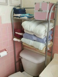 Etagere over-the-toilet storage shelves 02135, 02135