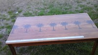 Refinished old Solid Oak Childs Table 447 mi