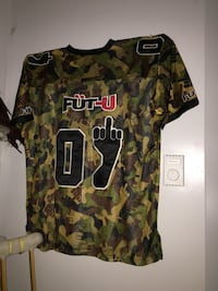 brown, black, and green camouflage crew-neck t-shirt Halifax, B3M 1S7