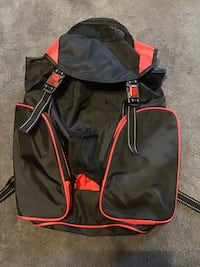 Large red & black back pack Williamston, 29697