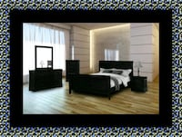 11pc black bedroom set Glen Burnie