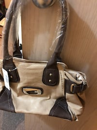 Beige Dark brown G purse  Surrey