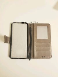 Leather flip case for Sumsung Galaxy s6 edge