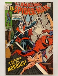 AMAZING SPIDERMAN #101 1ST APPEARANCE OF MORBIUS THE VAMPIRE GIL KANE