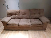 2 Great Couches-1 Leather & 1 Microfiber-$99 Each Eagan