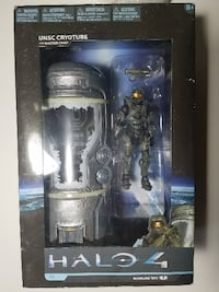 McFarlane Toys Halo 4 Series 1 - Frozen Master Chief with Cryotube Deluxe Figure Mesquite