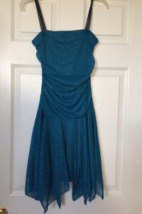 Girls party dress - strapless and sparkling  Oakville, L6M 4R5