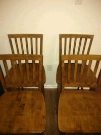two brown wooden windsor chairs Hyattsville, 20785