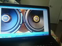 black and blue subwoofer speaker Brampton, L6V 3R1