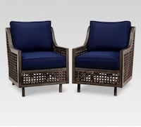 Fabron wicker motion club chairs set of 2 Torrance, 90505