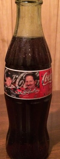 Dale Earnhardt Sr and Dale Earnhardt Jr. Coca Cola bottle Rock Hill, 29730