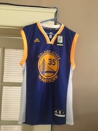 Kevin Durant Warriors Jersey null