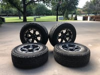 """17"""" Black MB Wheels with Cooper Tires San Angelo"""