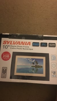 Used 10 Inches Sylvania Digital Photo Frame Box For Sale In Chula