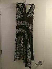 Brown and turquoise dress Fairborn, 45324