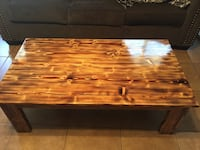 rectangular brown wooden coffee table West Monroe, 71291