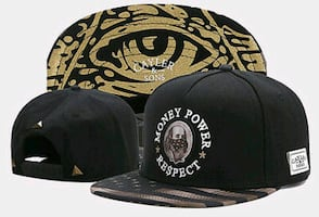 Cayler and Sons Snapback Hat - Money Power Respect