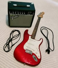 Fender Electric Guitar & Amplifier  Raleigh, 27614