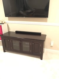 wooden tv stand with cabinet Reston, 20194