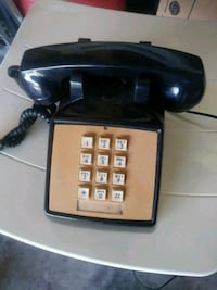 Antique phone. Made in USA Spring Hill, 34604