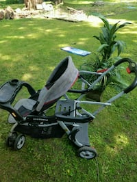 baby's black and gray stroller Tallmadge, 44278