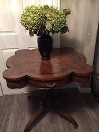 Antique occasional side table