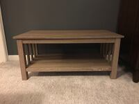 Driftwood colored coffee table  Alexandria, 22302