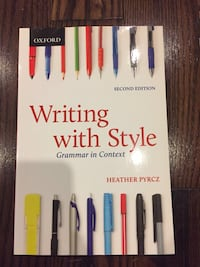 Writing with Style, Heather Pyrcz