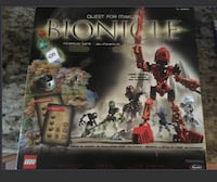 Lego bionical board game