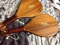 Wooden Racquetball set by Brookstone Carrollton, 75006