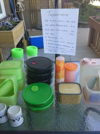 assorted plastic containers and containers Red Deer, T4N 5V3