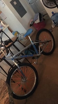 blue and gray BMX bike Swedesboro, 08085