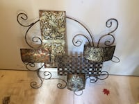 Metal wall hanging candle holders Silver Spring, 20904