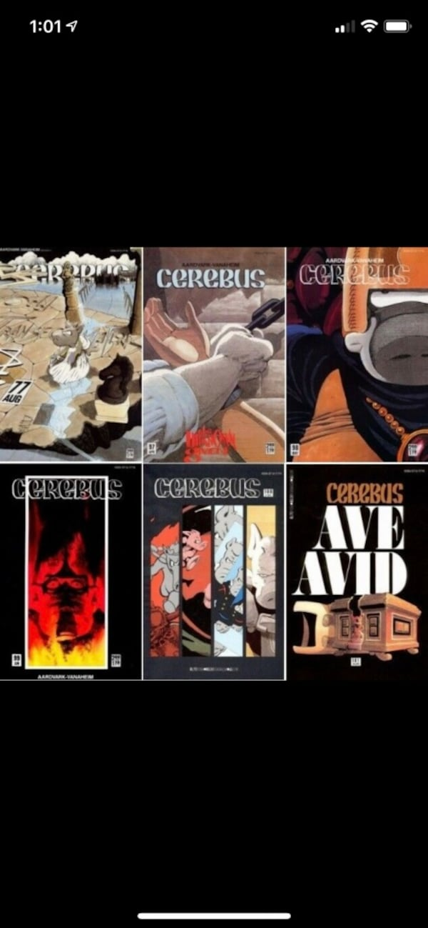 Comic books. Hard to find canadian comic books.Cerebus. Mint condition 80134cb7-fd2c-4f45-a826-41b871fe55ee