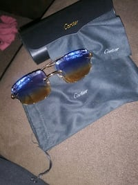 *RARE* CARTIER PANTHERE GLASSES W/2-TONE LENSE AND DIAMONDS