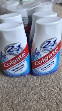 Colgate 2 in 1 toothpaste & mouthwash with stain lifters. 50 km