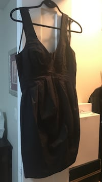 All saints black dress