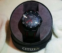 CITIZEN BLACK SPORT RACE BRACELET WATCH! Ashburn