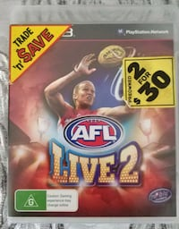 PS3 - AFL LIVE 2 CD Merkez, 34245