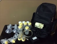 black and yellow Medela breast pump set Frederick, 21703