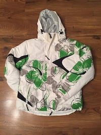 white and green floral long-sleeved shirt Mississauga, L5R