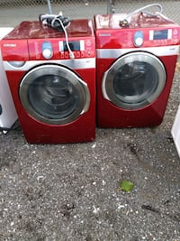 Samsung steam washer and dryer works good Fort Washington, 20744