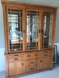 China cabinet and matching server table Livonia