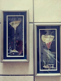 2 drink recipe picture wall decor. Myrtle Beach, 29577