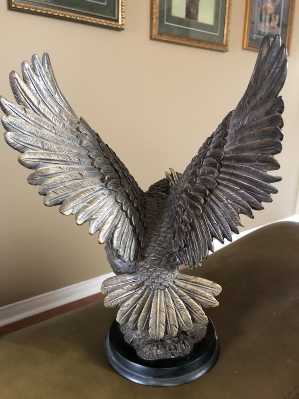 "The Natelia collection gorgeous OWL statue mint 12"" tall A+detail work 66cd2c3a-8d14-4367-9022-7796fc08aa13"