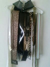 9 assorted women's belts Huntsville, 35806