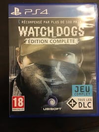 PS4 Watch Dogs Edition Ensemble de jeu complet
